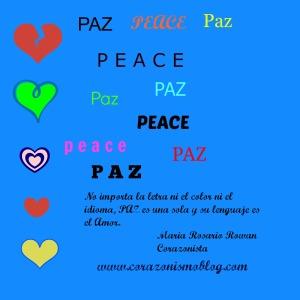 paz corazonismo